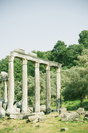 Temple of Zeus Ruins at Euromo