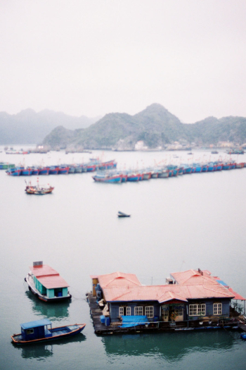 View of Ha Long Bay