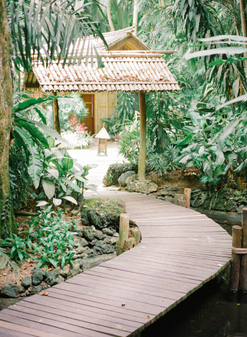 Walkway in the Philippines