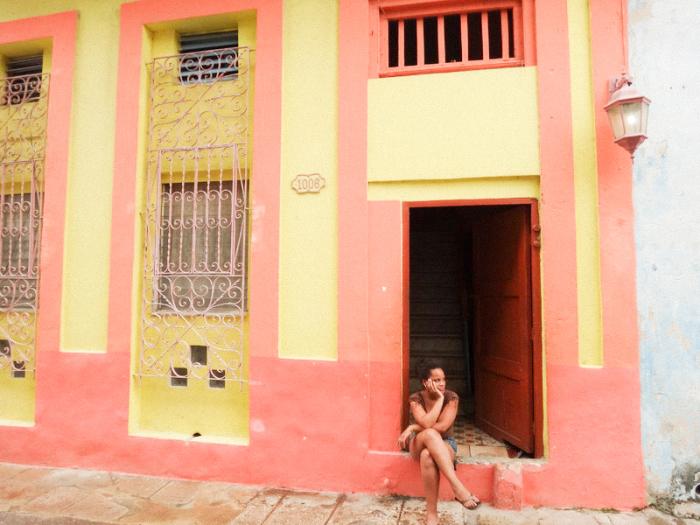 Woman Resting in Cuba