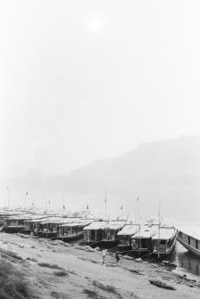 Boats in Luang Prabang