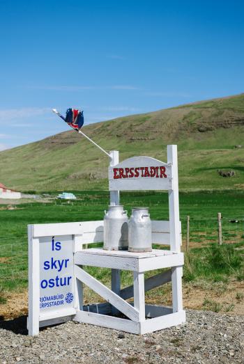 Dairy Farm Milk Stand