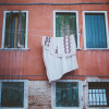 Hanging Laundry in Venice Italy