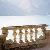 Intricate Stone Guard Rail at Lake Como