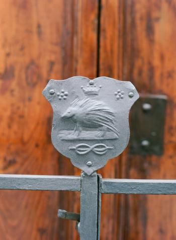 Iron Crest in Siena