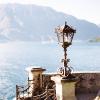 Iron Lamppost at Lake Como