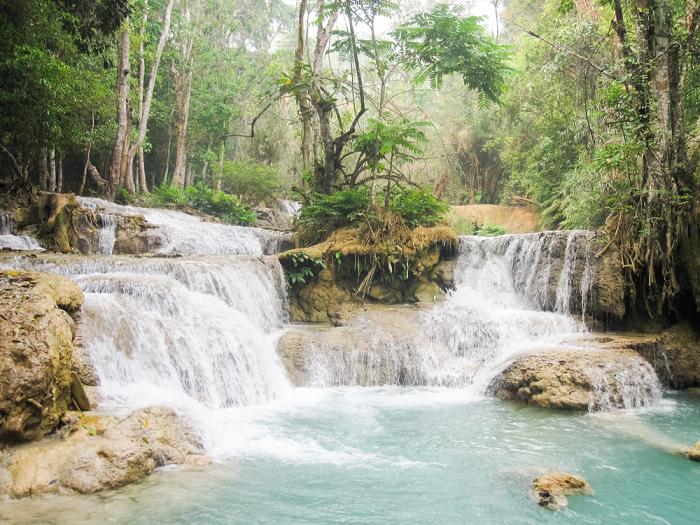 Kuang Si Falls in Luang Prabang