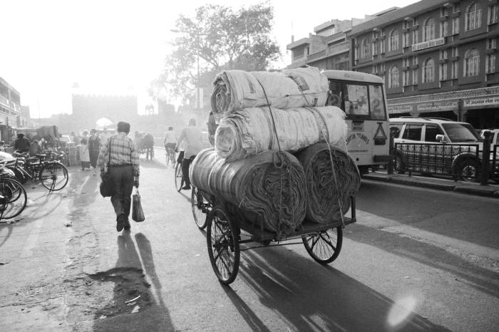 Man Walking in Jaipur