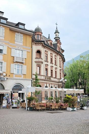 Plaza Cafes in Bolzano Italy