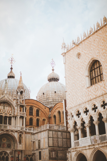 Stone Architecture of Venice Italy