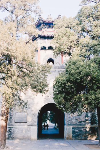 Stone Gate in Summer Palace
