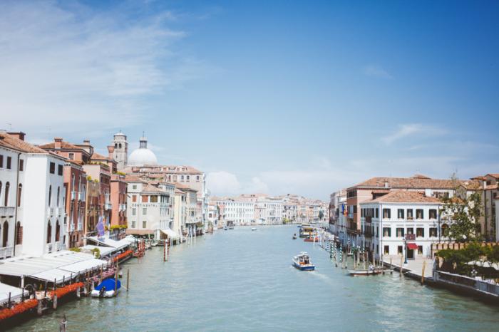 Sunny Skies in Venice Italy