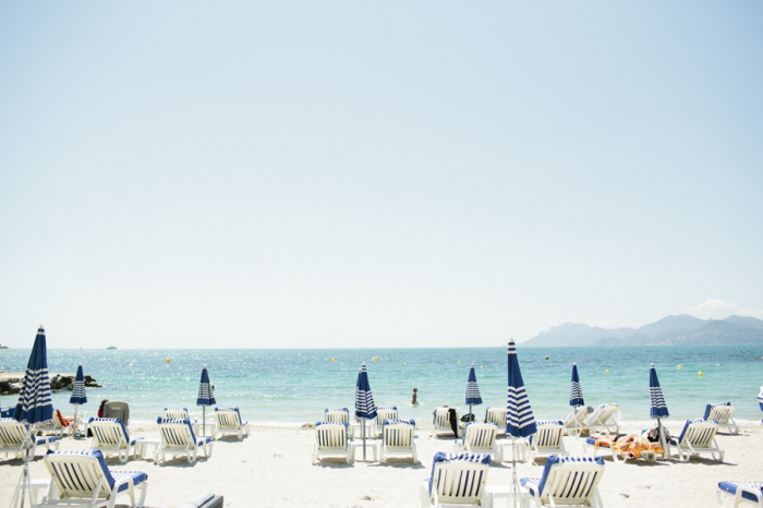 Teal Beaches of St Tropez France