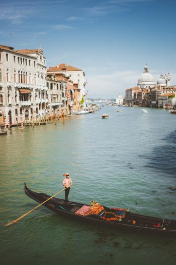 Views of Venice Italy