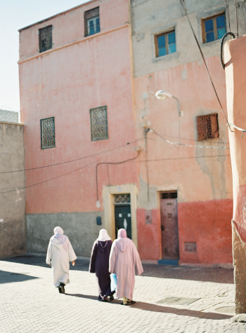 Women in the Streets of Morocco