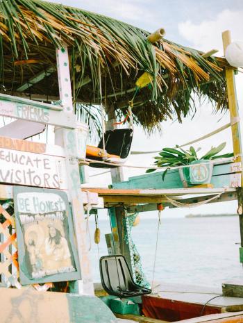 Boat Living in Belize