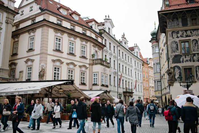 Buildings in Old Town Prague