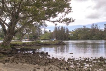 Calm Lagoon in Hawaii