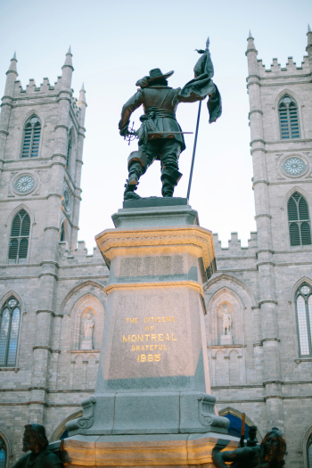 Citizens of Montreal Statue