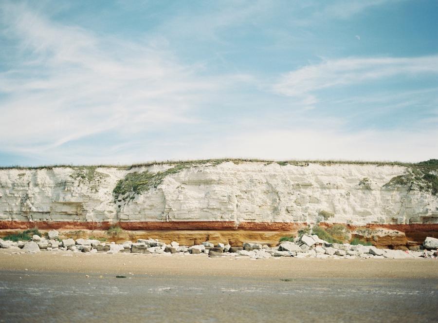cliffs of hunstanton beach entouriste