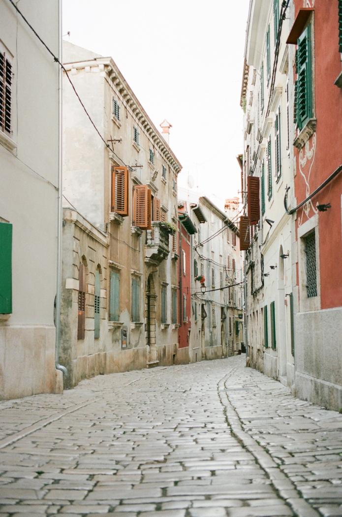 Cobblestone Streets in Croatia