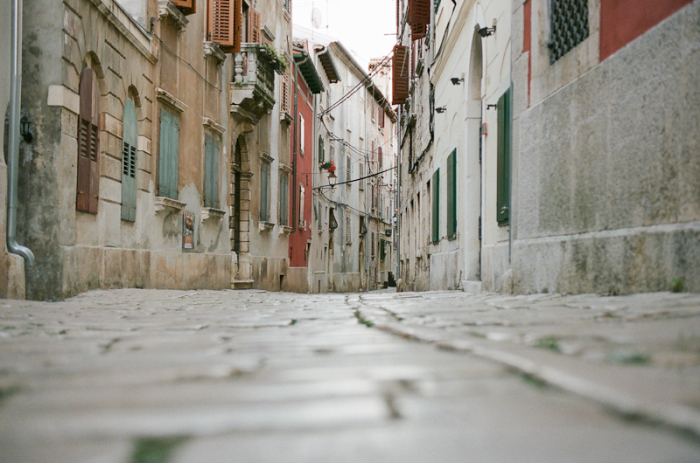 Cobblestone Streets of Croatia