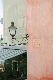 Corner Light in Croatia