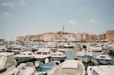 Croatian Boat Harbor