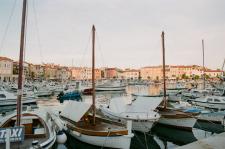 Docked Boats in Croatia