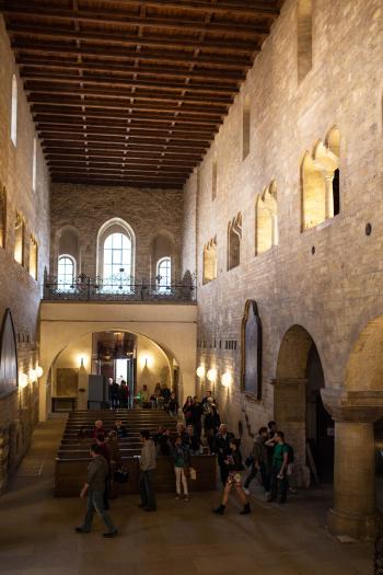 Inside St Georges Basilica
