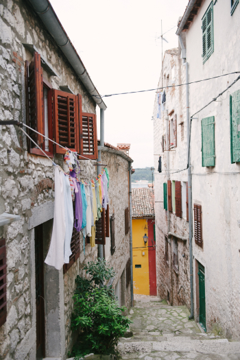 Narrow Alley in Croatia