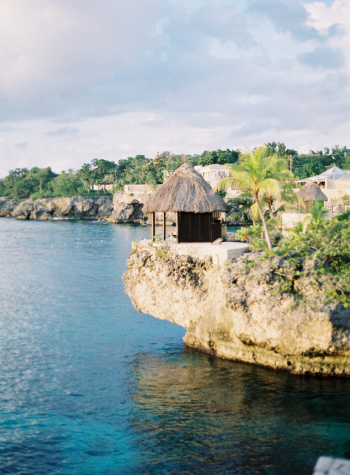 Oceanview from the Rockhouse Hotel Jamaica