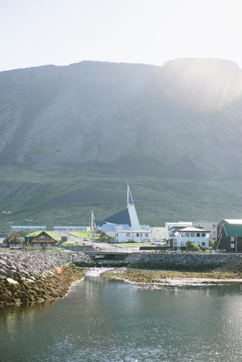 Olafsvik Church on the Snaefellsnes Peninsula