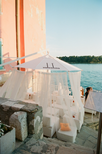 Patio Dining in Croatia