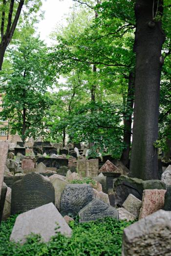 Prague Jewish Quarter Old Cemetery