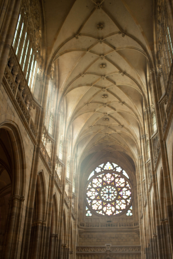Rose Window St Vitus Cathedral