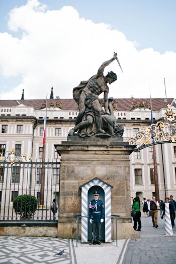 Soldier at Prague Castle