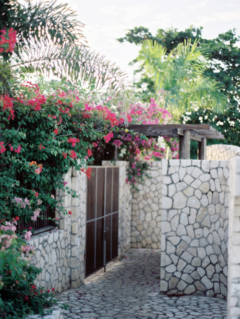 Stone Wall in Jamaica