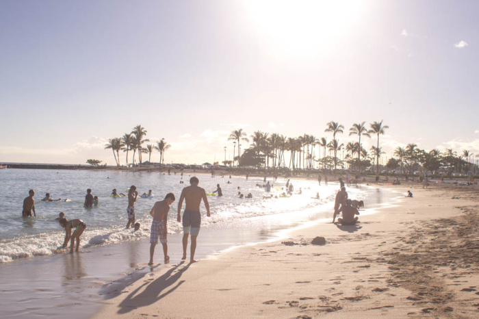 Sundrenched Waikiki