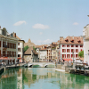 Blue Skies in Annecy France