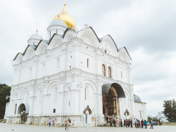 Cathedral of the Archangel in Moscow