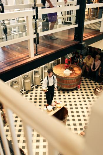 Cheesemonger in Amsterdam