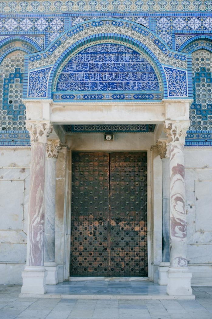 & Doors at Dome of the Rock - Entouriste