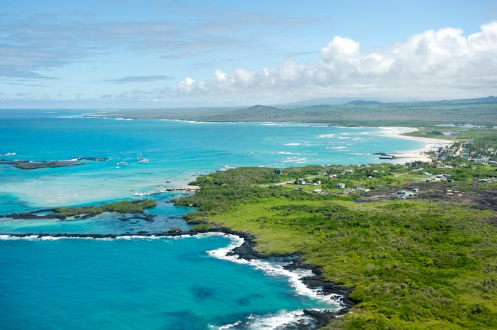 Green Shores of the Galapagos