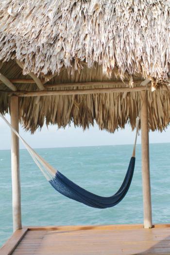 Hammock on the Beach in Belize