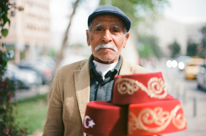 Hat Salesman in Istanbul