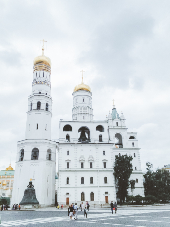 Ivan the Great Bell Tower in Moscow
