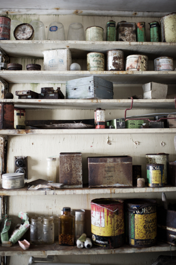 Rusting Cans in Antarctica