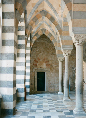 Stone and Arches at the Duomo di Amalfi