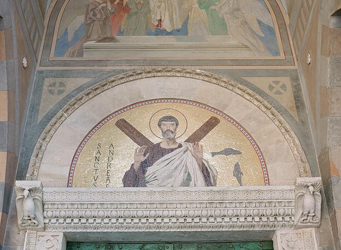 Tile at the Duomo di Amalfi